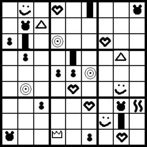 Sudoku without numbers