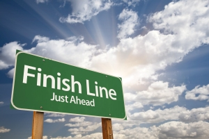 road-finish-line